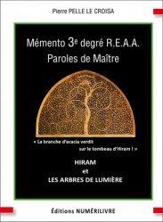 Mémento 3e degré R.E.A.A