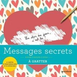 Messages secrets à gratter