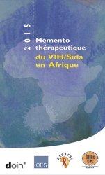 Mémento thérapeutique du VIH/SIDA en Afrique 2017