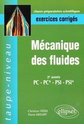 Mécanique des fluides 2ème année PC PC* PSI PSI*