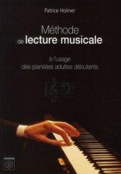 Méthode de lecture musicale à l'usage des pianistes adultes débutants en clef de sol et clef de fa