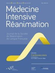 Médecine Intensive Réanimation Volume 28 N° 2, mars-avril 2019 : Cardiovasculaire