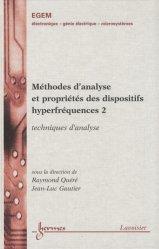 Méthodes d'analyse et propriétés des dispositifs hyperfréquences 2