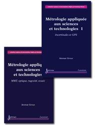 Métrologie appliquée aux sciences et technologies