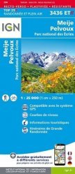 La couverture et les autres extraits de Névache, Mont Thabor, Cols du Galibier et du Lautaret. 1/25 000