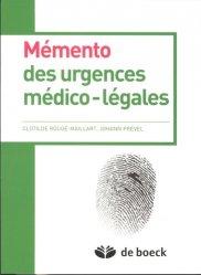 Mémento des urgences médico-légales