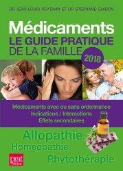Médicaments: le guide pratique de la famille 2018