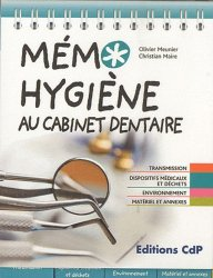 Memo hygiène au cabinet dentaire