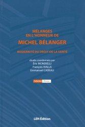 Mélanges en l'honneur de Michel Bélanger