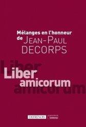 Mélanges offerts à Jean-Paul Decorps