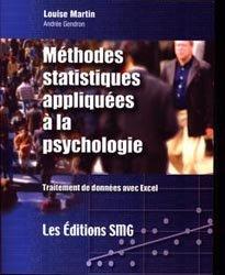 Méthodes statistiques appliquées à la psychologie