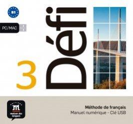 Méthode de français Défi 3 B1 - Manuel numérique
