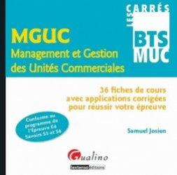 MGUC Management et Gestion des Unités Commerciales