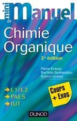 Mini manuel de Chimie organique