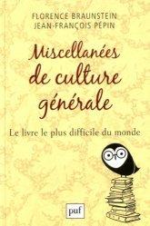 Miscellanées de culture générale. Le livre le plus difficile du monde