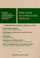 Mises à jour en gynécologie médicale 2012