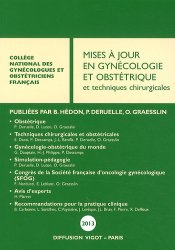 La couverture et les autres extraits de Mises à jour en gynécologie  2016