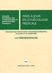 Mises à jour en gynécologie médicale 2002