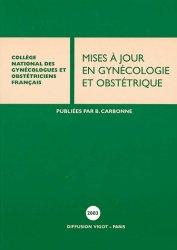Mises à jour en gynécologie et obstétrique 2003