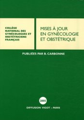La couverture et les autres extraits de Mises à jour en gynécologie et obstétrique 2007