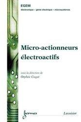 Micro-actionneurs électroactifs