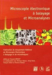 Microscopie électronique à balayage et Microanalyses