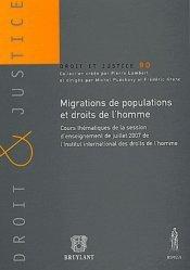 Migrations de populations et droits de l'homme
