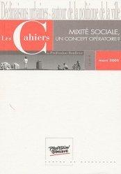 Mixité sociale, un concept opératoire