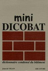 La couverture et les autres extraits de Dicobat 6 - Dictionnaire général du bâtiment
