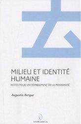 La couverture et les autres extraits de Ecoumène. Introduction à l'étude des milieux humains