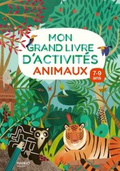 Mon grand livre d'activités - animaux