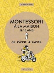 Montessori à la maison 12-15 ans