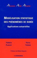 Modélisation statistique des phénomènes de durée