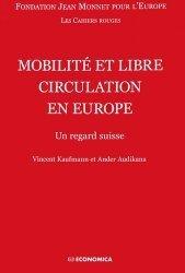 Mobilité et libre circulation en Europe