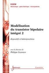 Modélisation du transistor bipolaire intégré 2