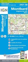 La couverture et les autres extraits de Lucenay-les-Aix. 1/25 000