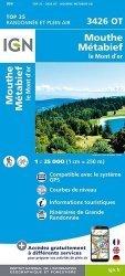 La couverture et les autres extraits de Morez, Les Rousses, Col de la Faucille, PNR du Haut-Jura ; 1/25000