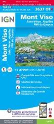 La couverture et les autres extraits de Mont Viso, St-Véran Aiguilles, PNR du Queyras. 1/25 000