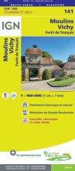 La couverture et les autres extraits de Toulouse Pamiers. 1/100 000