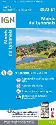 Monts du Lyonnais. 1/25 000