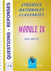 Module IX