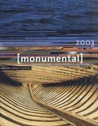 Monumental 2003. Patrimoine maritime
