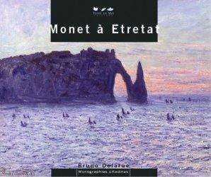 Monet à Etretat