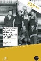 Mouvements migratoires d'hier et d'aujourd'hui en Italie