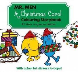 MR MEN A CHRISTMAS CAROL COLORING STORYBOOK