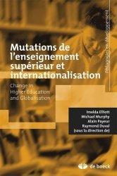 Mutations de l'enseignement supérieur et internationalisation