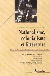Nationalisme, colonialisme et littérature