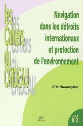 Navigation dans les détroits internationaux et protection de l'environnement. La prévention des pollutions marines accidentelles dans le Pas-de-Calais et les Bouches de Bonifacio
