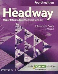 New Headway Upper-Intermediate B2 Workbook + iChecker with Key
