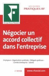 La couverture et les autres extraits de Les clés pour négocier un accord d'entreprise. Négocier, rédiger, conclure, appliquer, réviser, Edition 2020